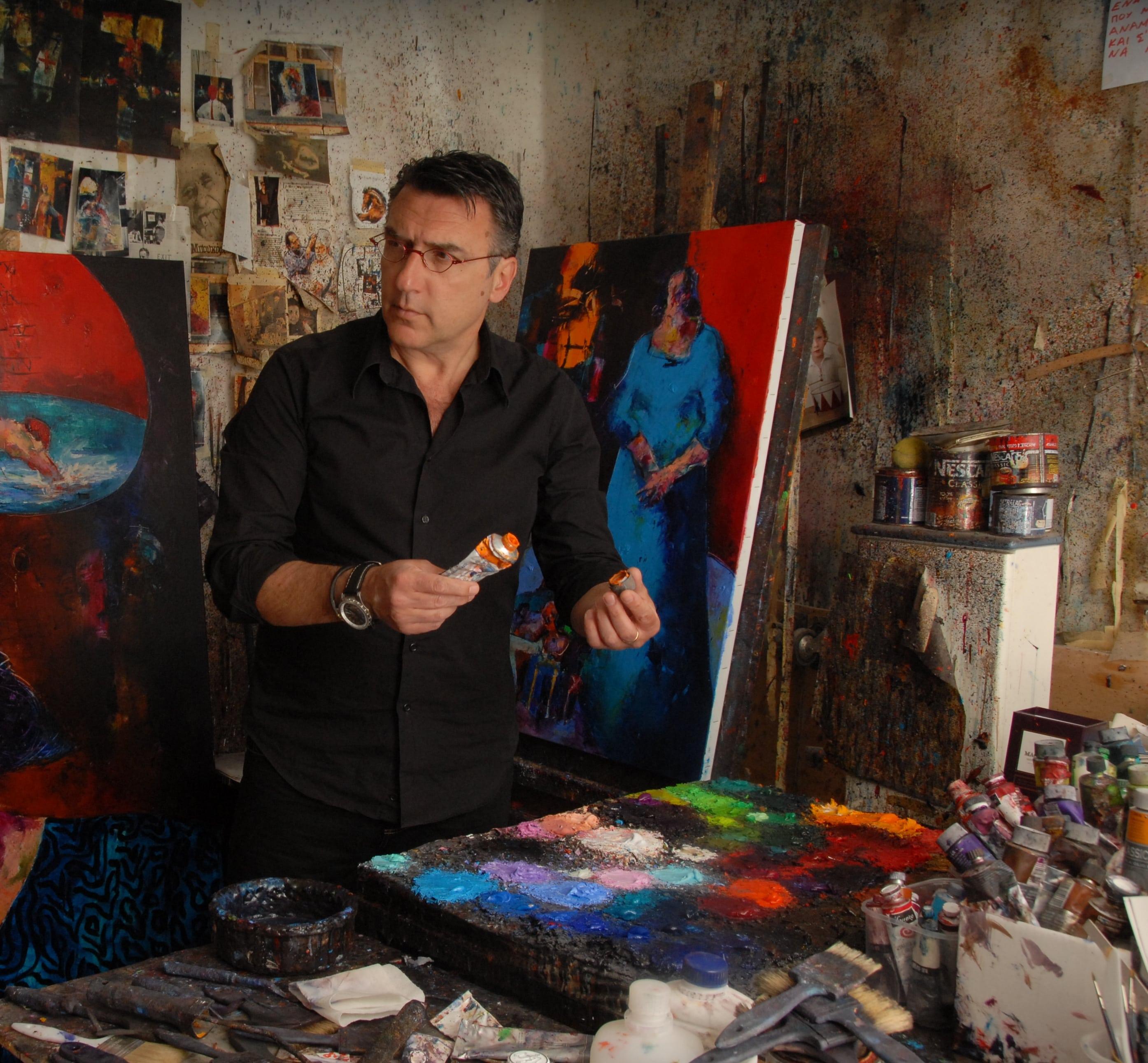 Κωστής Γεωργίου: «Η τέχνη είναι το αμορτισέρ που απορροφά τους κραδασμούς του κακοτράχαλου δρόμου της καθημερινότητας»