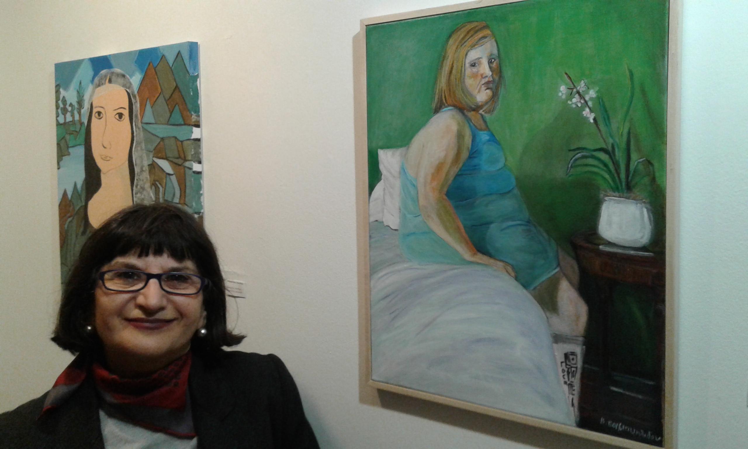 """Βίκυ Σαμουηλίδου: """"Η σύγχρονη Τέχνη στην Ελλάδα είναι ελπιδοφόρα. Γίνονται εκθέσεις, εξαιρετικές εικαστικές δράσεις."""""""